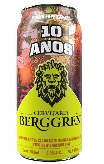 Berggren  10 anos  NE Ipa 473ml