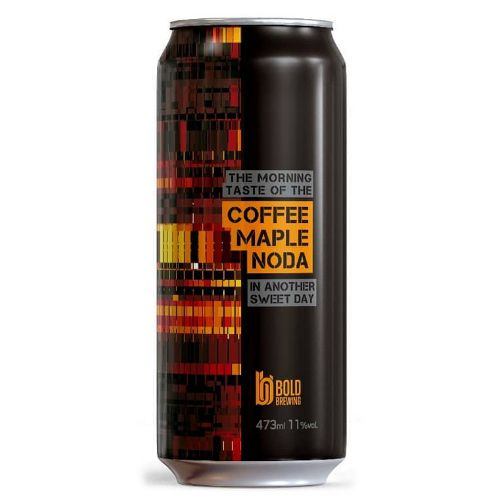Bold Brewing Coffe Maple Noda  Lata 473ml  Imperial Stout