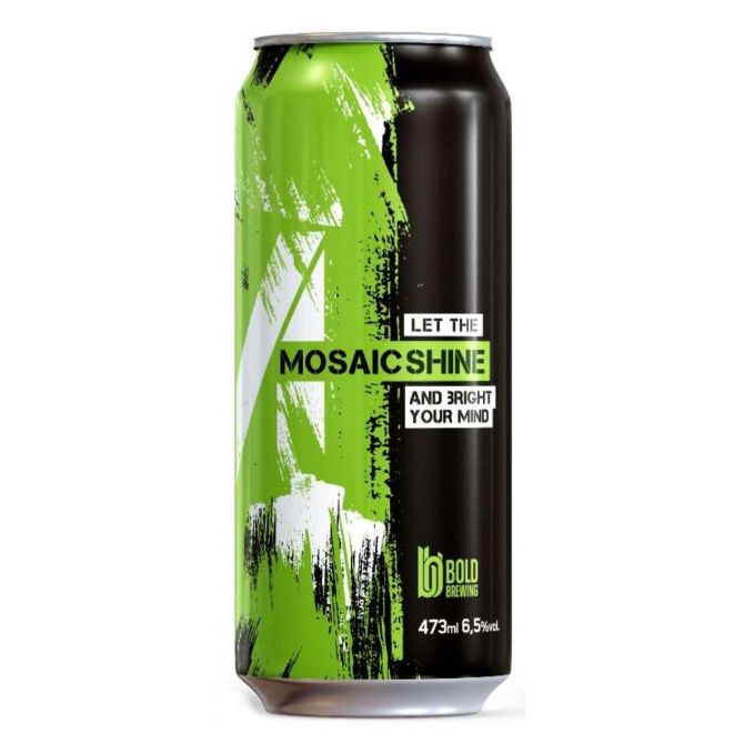 Bold Brewing Mosaic  Shine Lata 473ml