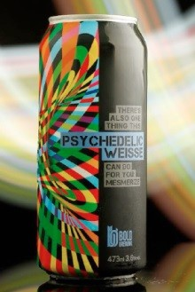 Bold Brewing Psychedelic Weisse Lata 473ml Berliner Weiss
