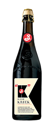 Brooklyn K is for Kriek 750ml