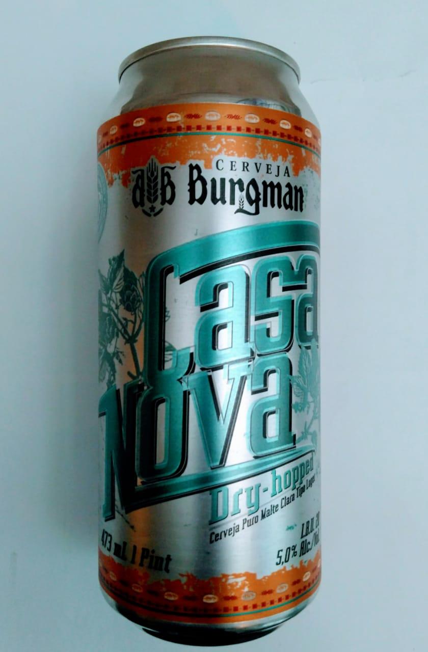 Burgman Casa Nova Lata 473 ml Hop Lager