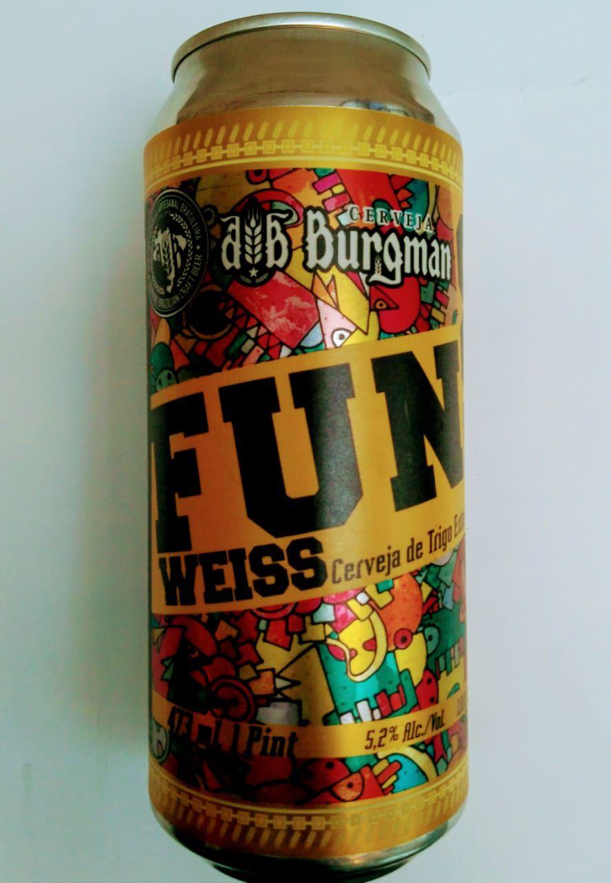 Burgman Fun Weiss lata 473ml