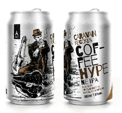 Caravan Coffee Hype NE IPA Lata 355ml