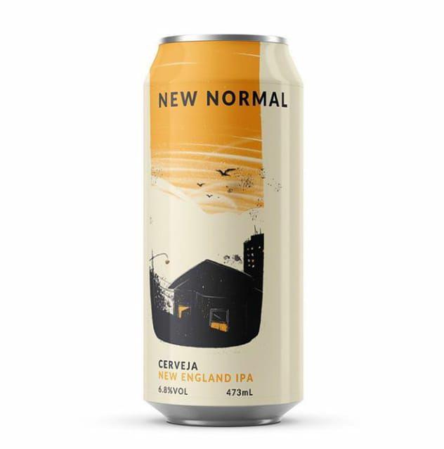 Carioca Brewing co.  New Normal NEIPA Lata 473ml