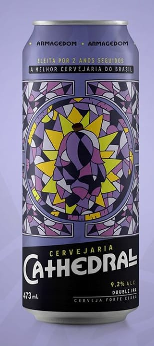 Cathedral Armagedom Double Ipa 473ml