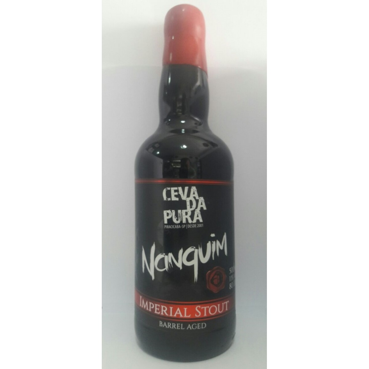 Cevada Pura Nanquim 500ml Imperial Stout Barrel Aged