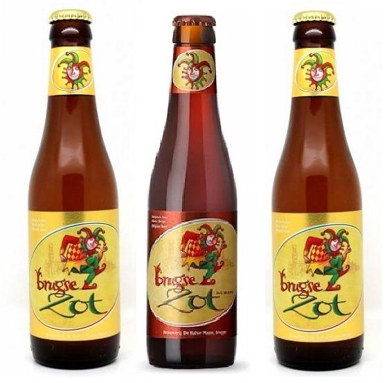 Combo Brugse Zot  - 2 Blond Ale + 1 Dubbel + Taça