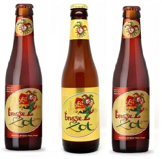 Combo Brugse Zot 2 Dubbel 330ml + 1 Blond Ale 330 ml  + taça