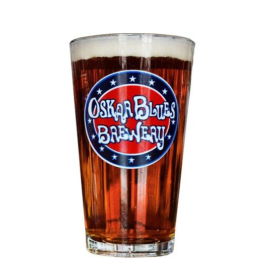 Copo Oskar Blues Brewery Pint 473ml