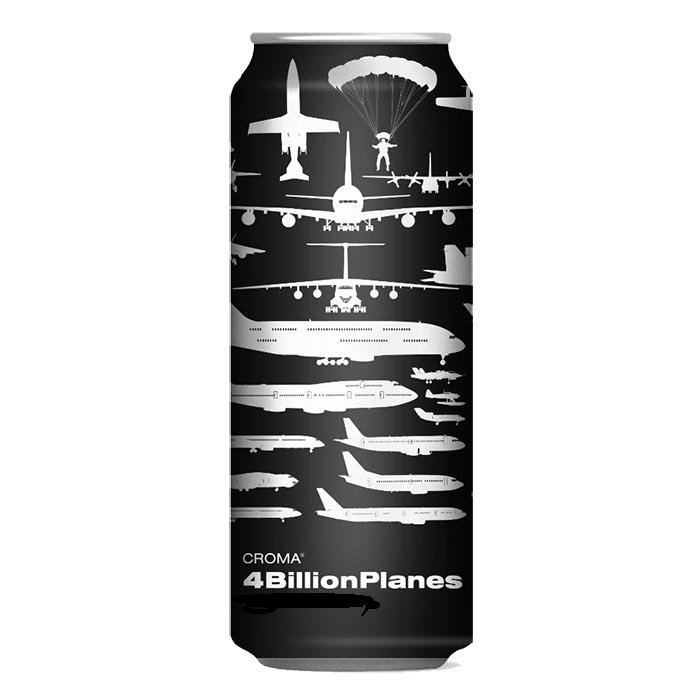Croma 4 Billion Plane Lata 473ml Double Juicy IPA