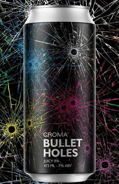 Croma Bullet Holes 473ml  Juicy IPA