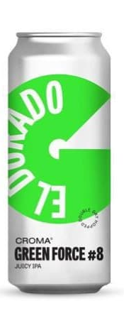 Croma Green Force #8 El Dorado Lata 473ml juicy IPA
