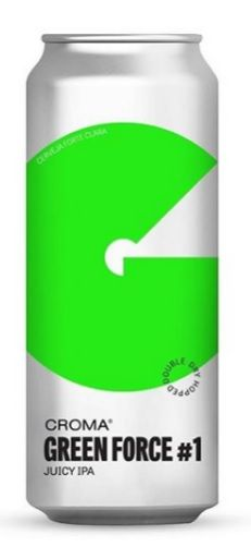 Croma Green Force Lata 473ml Juicy IPA