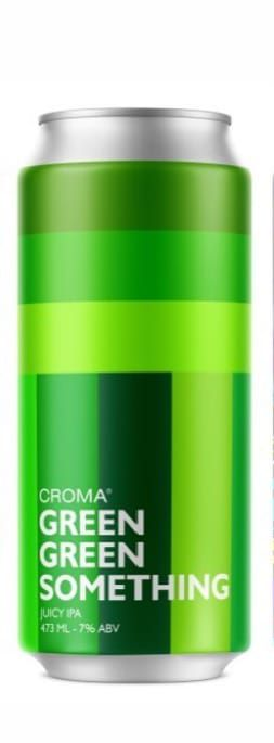 Croma Green Green Something  juicy IPA Lata 473ml