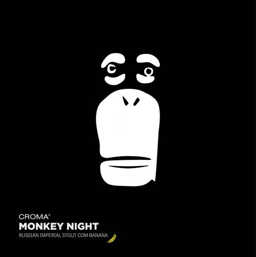 Croma Monkey Night Lata 473ml Russian imperial Stout c/ Banana