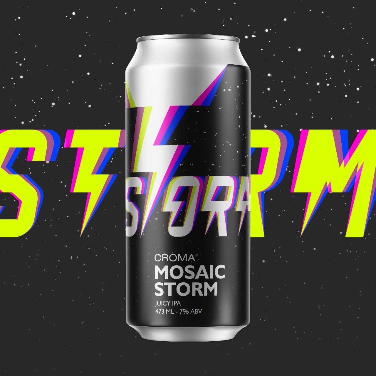 Croma Mosaic Storm Juicy Ipa Lata 473ml