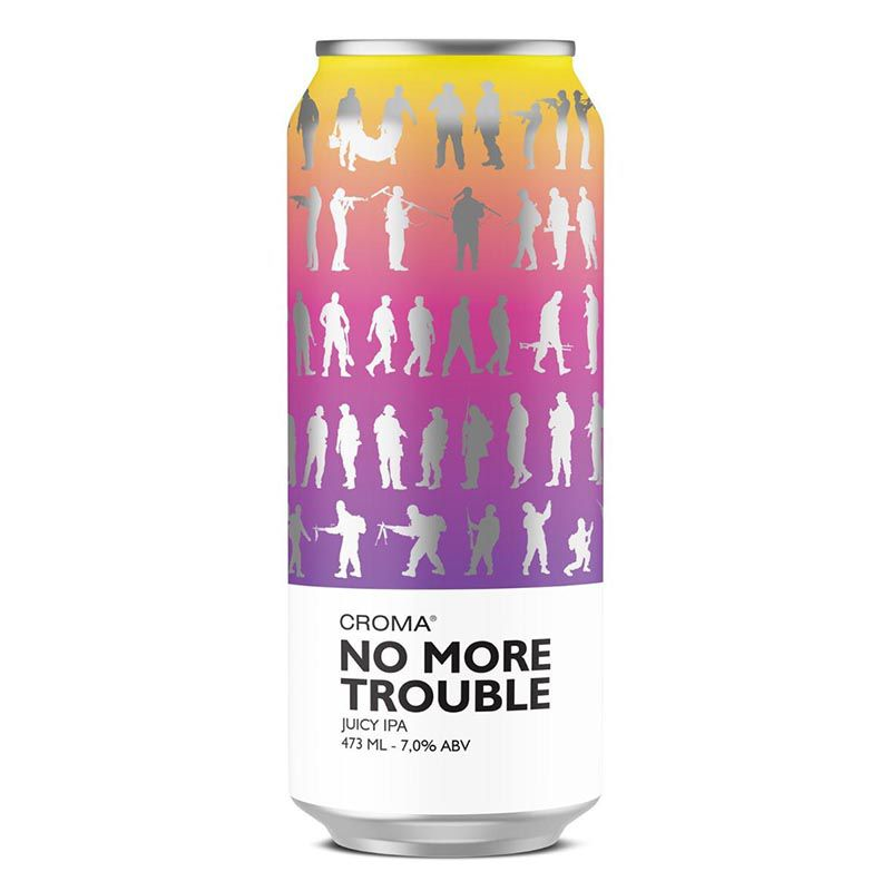 Croma No More Trouble  juicy IPA Lata 473ml