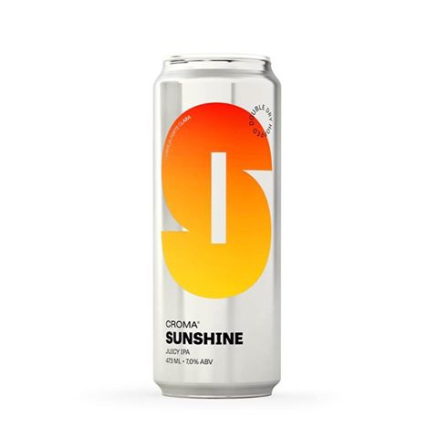 Croma Sunshine Lata 473ml NE IPA