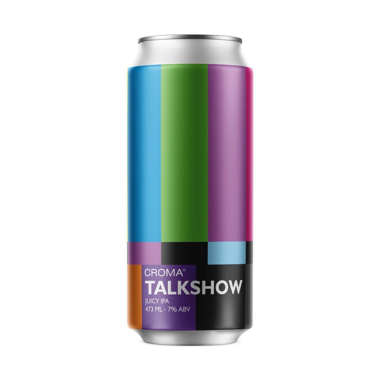 Croma Talkshow  juicy IPA 473ml