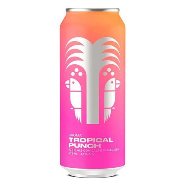 Croma tropical Punch  Sour Ale Lata 473ml