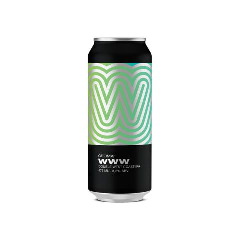Croma W.W.W.  Lata 473ml Double West Coast IPA