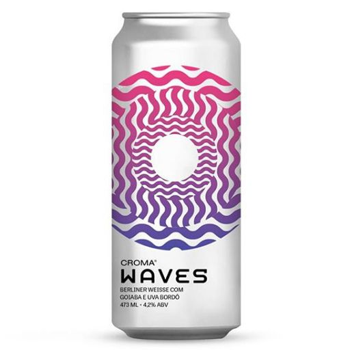 Croma Waves Lata 473ml Berliner Weiss