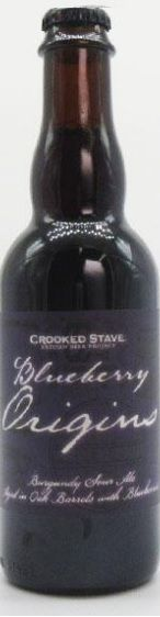 Crooked Stave Blueberry Origins 375ml  VALIDADE 28/12/2018