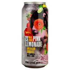 Dádiva 2X Milk Shake Pink Lemonade 473ml American Sour