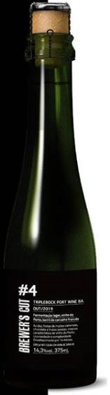 Dádiva Brewer's Cut #4 375ml Triplebock B.A.
