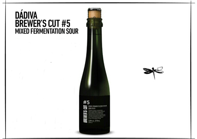 Dádiva Brewer's Cut #5 Mixed Fermentation Sour BA garrafa 375ml
