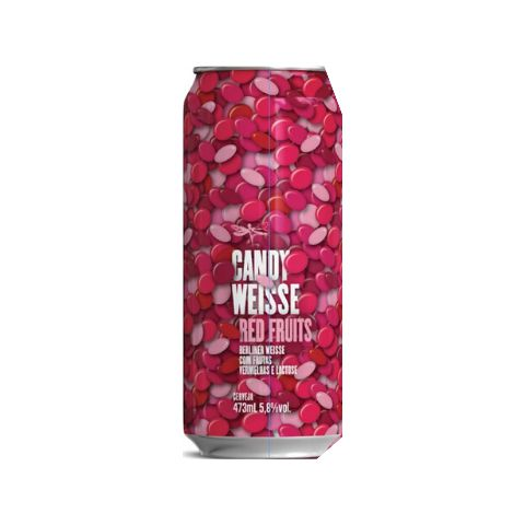 Dádiva Candy Weisse Red Fruits  473ml Berliner Weiss
