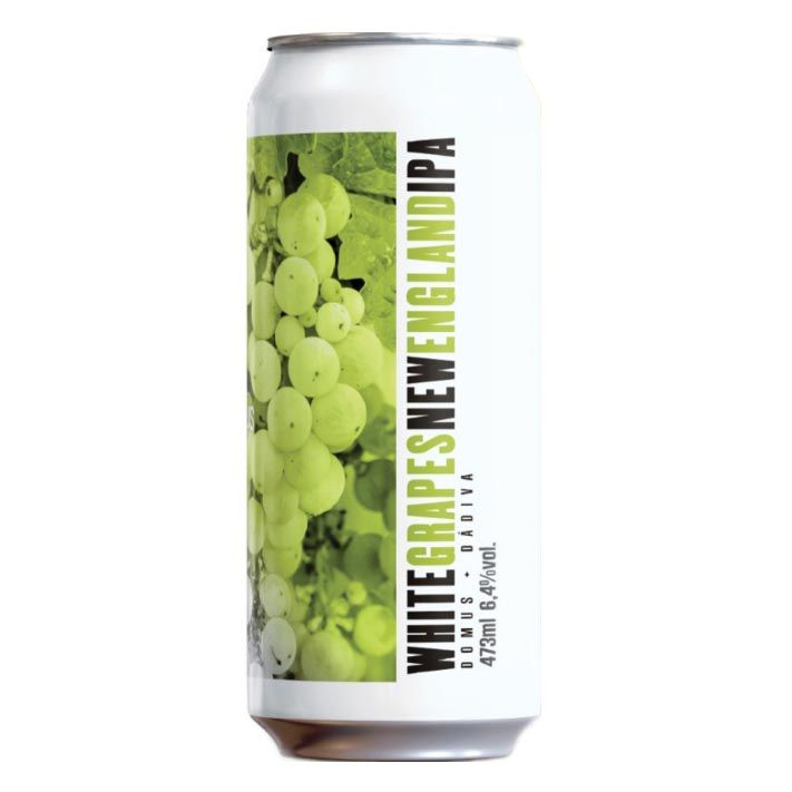Dádiva e Domus White Grapes New England IPA Lata 473ml