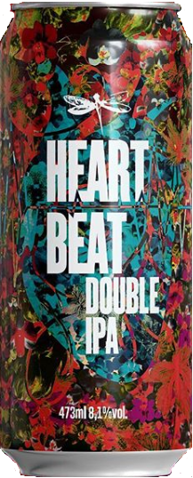 Dadiva Heart Beat Lata 473ml Double IPA