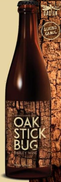 Dádiva / Quatro Graus Oak Stick Bug Barley Wine 500ml