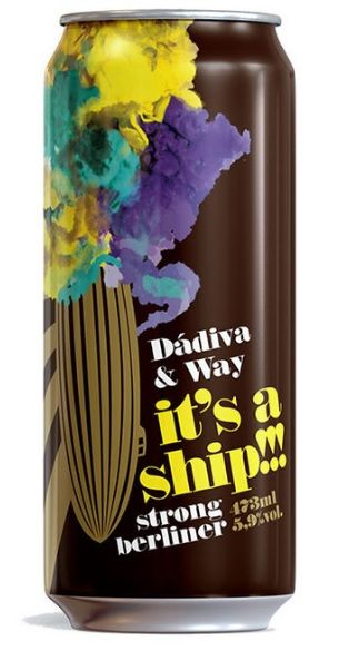 Dadiva / Way It's a Ship!!! Lata 473ml Strong Berliner