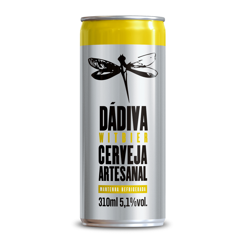 Dadiva Witbier Lata 310ml