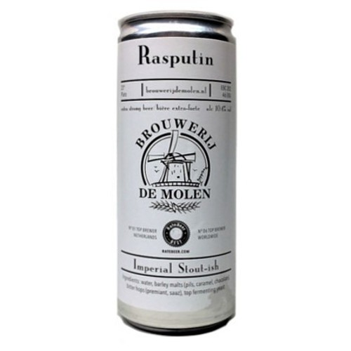 De Molen Rasputin Lata 330ml Ris