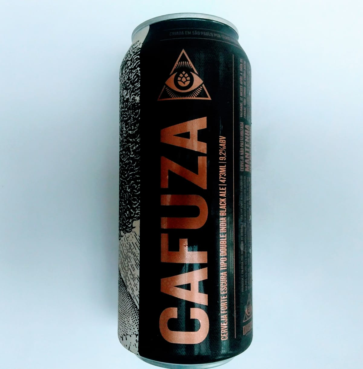 Dogma Cafuza Lata  473ml Black IPA