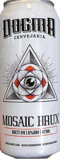 Dogma Mosaic Brux Lata 473ml Brett IPA