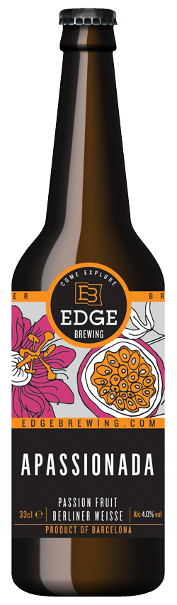 Edge Brewing Apassionada 330ml Berliner Weisse