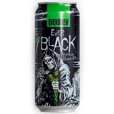 Everbrew Everblack Lata 473ml American Black IPA