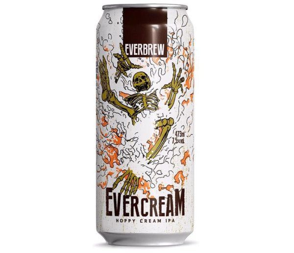 EverBrew Evercream  Hoppy Cream IPA lata 473ml