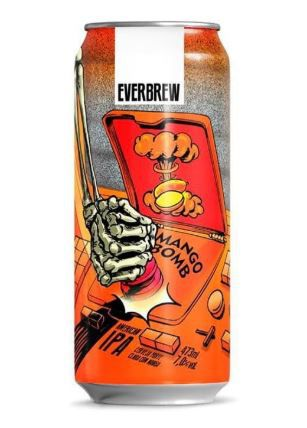 Everbrew Mango Bomb Lata 473ml American IPA
