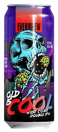 Everbrew Old is Cool Lata 473ml Doublre IPA
