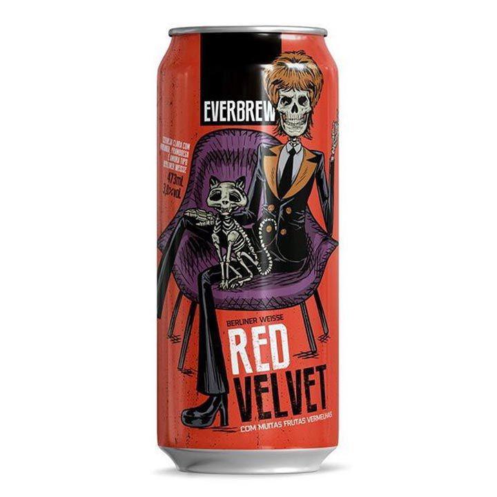 Everbrew Red Velvet 473ml Berliner Weisse