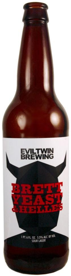 Eviltwin Brett, Yeast & Helles 660ml Sour Ale