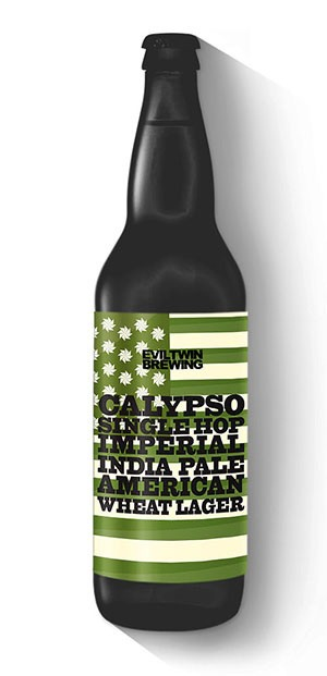 Eviltwin Calypso Single Hop Imperial India Pale American Wheat Lager 660ml