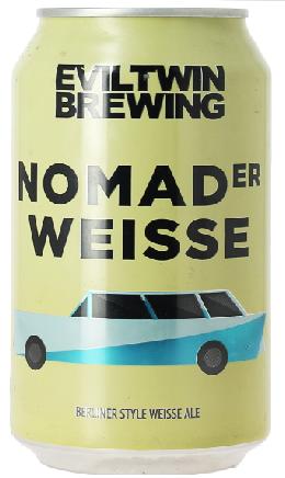 Eviltwin Nomader Weisse Lata 355ml Berliner Weiss