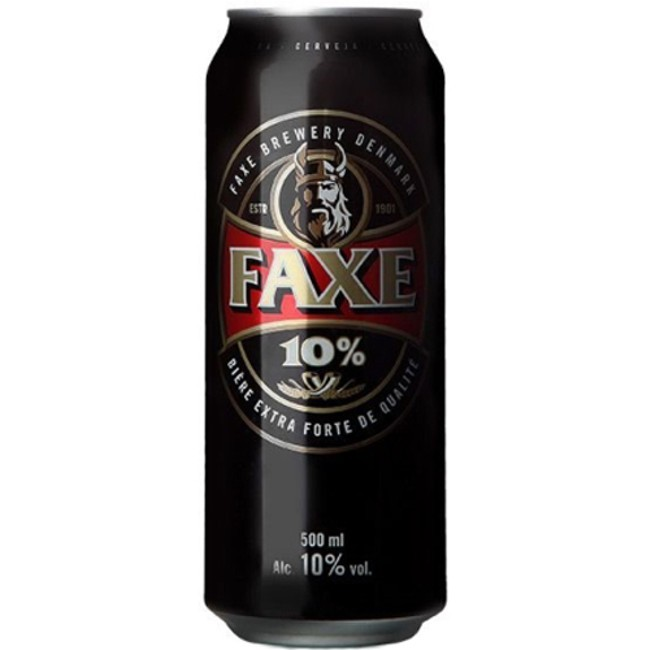 Faxe 10% 500ml Extra Strong Lager